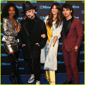 Joe Jonas Joins Fellow 'Voice Australia' Coaches at Nine All Stars Event