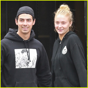Joe Jonas & Sophie Turner Couple Up for Afternoon Workout!