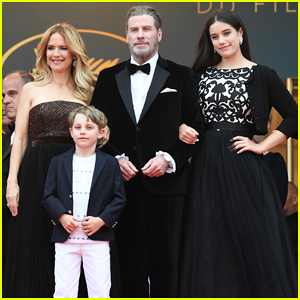 John Travolta, Kelly Preston & Their Children Hit Red Carpet at 'Solo: A Star Wars Story' Cannes Premiere!