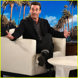Jon Hamm Revisits His First Role as 'Gorgeous Guy at Bar' on 'Ally McBeal'
