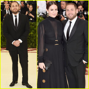Jonah Hill Attends Met Gala 2018 with Sara Moonves