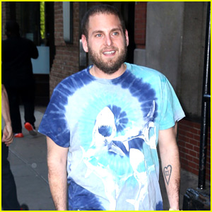 Jonah Hill Is Loving Tye-Dye Clothing These Days!