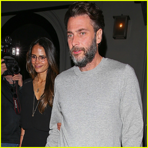 Jordana Brewster & Husband Andrew Form Grab Dinner in WeHo