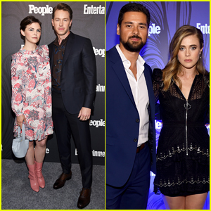 Josh Dallas & Wife Ginnifer Goodwin Couple Up at EW & People's Upfronts Bash 2018!
