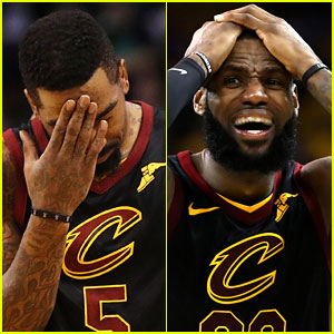 Celebs React to JR Smith's NBA Finals Mistake - Read Tweets!
