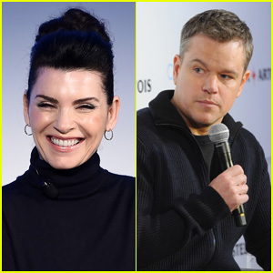 Julianna Margulies Defends Matt Damon Following Backlash Over #MeToo Comments