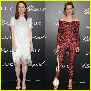 Julianne Moore & Marion Cotillard Stun at Chopard Event during Cannes Film Festival 2018