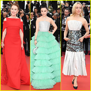 Julianne Moore, Fan Bing Bing & Chloe Sevigny Attend Cannes Film Festival Opening Ceremony