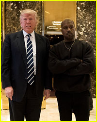 Donald Trump Thanks Kanye West for His Support in NRA Speech
