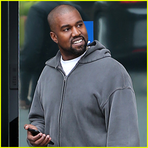 Kanye West Heads Back to His Office After His Controversial TMZ Live Appearance