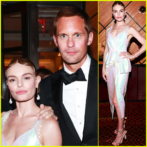 Exes Alexander Skarsgard & Kate Bosworth Reunite at Met Gala 2018 After Party