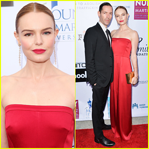 Kate Bosworth & Michael Polish Couple Up at From Slavery To Freedom Gala 2018!