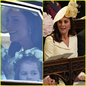 Kate Middleton Arrives with Page Boys & Bridesmaids at Royal Wedding!