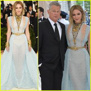 Katharine McPhee & David Foster Couple Up For Met Gala Debut!