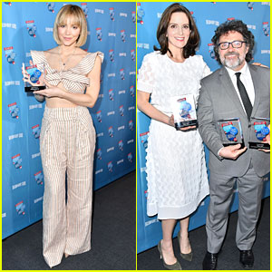 Katharine McPhee & Tina Fey Grab Dinner After Accepting Broadway.com Audience Awards!