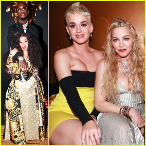 Katy Perry, Madonna, Cardi B & Offset Live It Up at Versace Met Gala 2018 After Party!