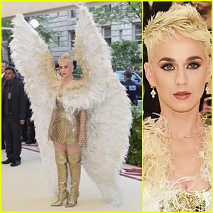 Katy Perry Is a Literal Angel at Met Gala 2018