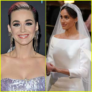 Katy Perry Has One Critique of Meghan Markle's Wedding Gown & She Didn't Sugar Coat It!