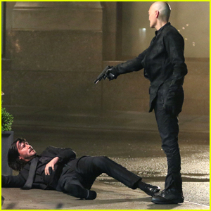 Keanu Reeves Films Intense 'John Wick 3' Scenes in NYC!
