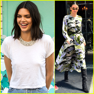 Kendall Jenner Poses for 'Tiffany Blue' Photo Shoot in NYC!