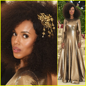 Kerry Washington Is a Golden Goddess at Met Gala 2018!