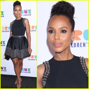 Kerry Washington Goes Pretty in Little Black Dress for Bronx Children's Museum Gala