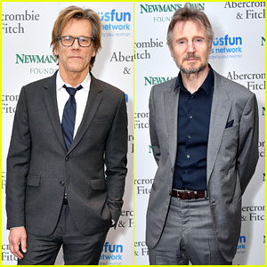Kevin Bacon & Liam Neeson Help Out a Good Cause at SeriousFun Children's Network Gala!