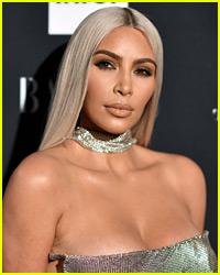 Kim Kardashian Dresses Like Cher While Attending Her Concert