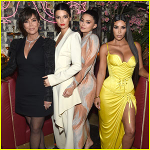 Kim Kardashian Joins Kendall & Kylie Jenner For 'BoF' Dinner