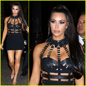 082716f144a Kim Kardashian Looks Flawless at Met Gala 2018 After Party