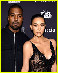 Kim Kardashian & Kanye West Reunite & Grab BBQ in Wyoming!