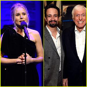 Kristen Bell Helps Honor Lin-Manuel Miranda & Dick Van Dyke at Geffen Playhouse Fundraiser