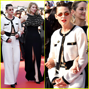 Kristen Stewart Joins Cannes Jury for a Women's March