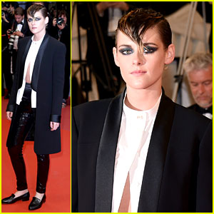 Kristen Stewart Goes for Edgy Look at Latest 'Cannes' Premiere!