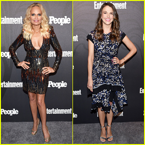 Kristin Chenoweth & Sutton Foster Rep Their Shows at EW & People's Upfronts Bash 2018!