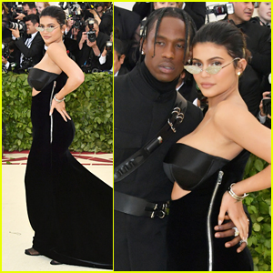 New Parents Kylie Jenner & Travis Scott Couple Up at Met Gala 2018