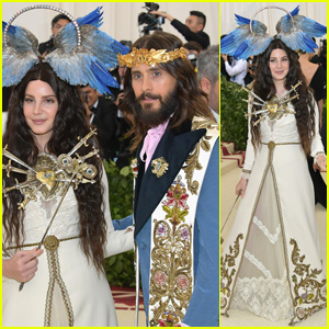Lana Del Rey & Jared Leto Are a Gucci Gang at Met Gala 2018!