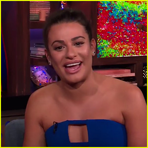 Lea Michele Addresses the Online Conspiracy Theory That She's Illiterate - Watch Now!
