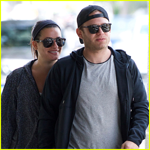 Lea Michele & Fiance Zandy Reich Head to Brunch in LA!