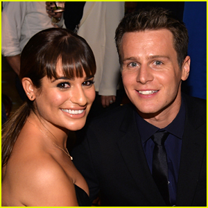 Lea Michele Says BFF Jonathan Groff Is Her 'Maid of Honor'