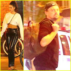 Leonardo DiCaprio & Camila Morrone Enjoy a Low-Key Date Night