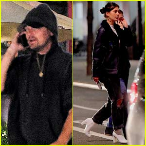 Leonardo DiCaprio & Camila Morrone Grab Dinner Together