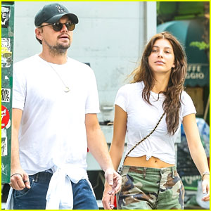Leonardo DiCaprio Wears Rolled-Up Jeans for NYC Stroll with Girlfriend Camila Morrone