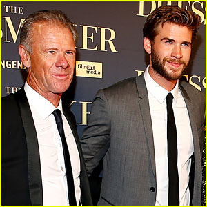 Liam Hemsworth Shares Shirtless Pic of His Dad, Who is Ripped!