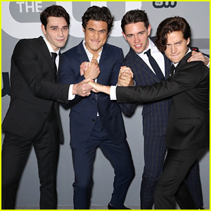 Cole Sprouse, KJ Apa & More 'Riverdale' Stars Hit Up CW Upfronts 2018