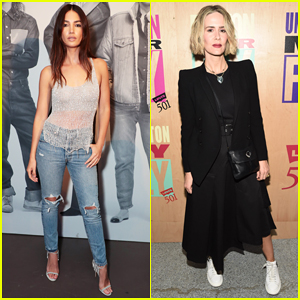 Lily Aldridge, Sarah Paulson & More Celebrate Levi's x karla 501® Day Collection!
