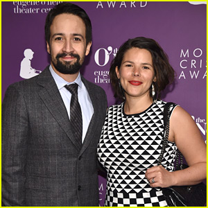 Lin-Manuel Miranda & Wife Vanessa Step Out for Monte Cristo Awards in NYC