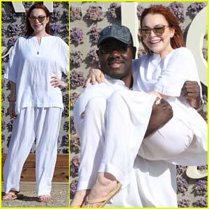 Lindsay Lohan Celebrates Lohan Beach House Opening!
