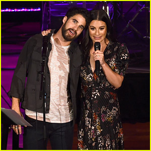 Lea Michele & Darren Criss Kick Off 'LM/DC Tour' in Nashville!