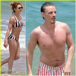 Lucy Hale Hits the Beach in Hawaii with Boyfriend Riley Smith!